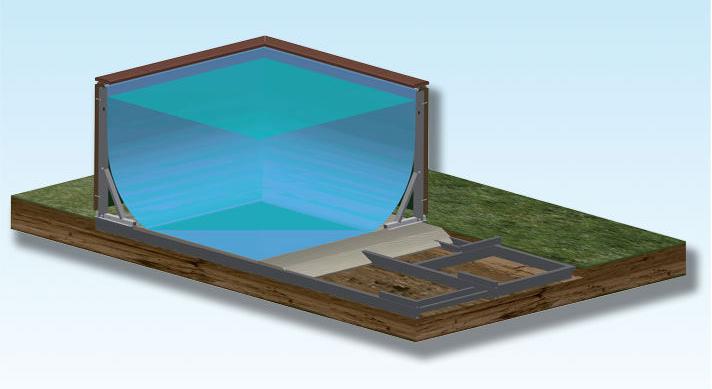 La forma dell 39 acqua piscine srls la spezia piscine fuori terra - Piscina laghetto playa prezzo ...